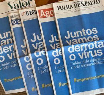 jornais brasileiros unificam capas